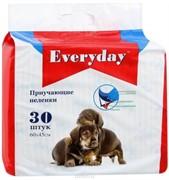 EVERYDAY пеленки гелевые  30шт 60*45см