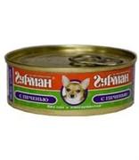 Четвероногий Гурман консервы д/собак Мясное ассорти с Печенью 100г
