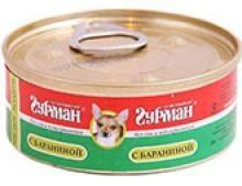 Четвероногий Гурман 44584 консервы д/собак Мясное ассорти с Языком 100г