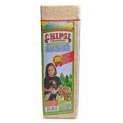 Chipsi Strawberry  Наполнитель древесный ароматизированный для грызунов 15л*1кг