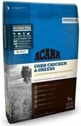 ACANA Heritage Cobb Chicken & Greens сух.д/собак Цыпленок/Зелень