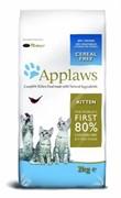 APPLAWS Беззерновой для Котят Курица/Овощи: 80/20% (Dry Cat Kitten)