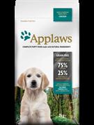 APPLAWS  Беззерновой для Щенков малых и средних попрод Курица/овощи: 75/25% (Dry Dog Chicken Small & Medium Breed Puppy)