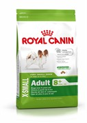 ROYAL CANIN Для взрослых собак карликовых пород от 8 до 12 лет, X-Small Adult 8+
