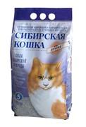 Сибирская кошка Прима Комкующийся наполнитель, 5л