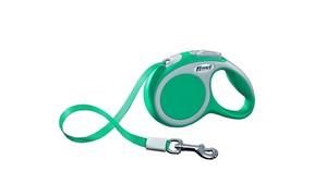 FLEXI рулетка-ремень для собак до 15кг, 5м,   (Vario S tape 5m )