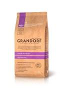 Grandorf  Ягненок с рисом для взрослых собак крупных пород (12 кг)