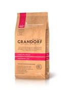 Grandorf  Ягненок с рисом для взрослых собак средних пород (12 кг)