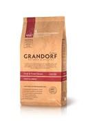 Grandorf  Утка с картофелем для взрослых собак всех пород беззерновой (12 кг)