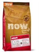 Now Natural Holistic Беззерновой для взрослых собак со свежим мясом ягненка и оленины (11,35 кг)