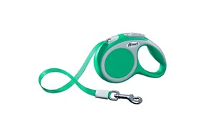 Flexi рулетка-ремень для собак до 15кг, 5м,   (Vario S tape 5m turquoise)