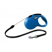 Flexi рулетка-трос для собак до 12кг, 8м, (New Classic S cord blue)