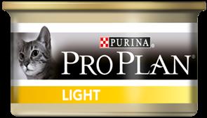 Pro Plan Light консервы для кошек с избыточным весом (с индейкой) (0,085 кг)