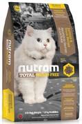 Nutram T24 Salmon Trout Cat  сухой корм для кошек беззерновой лосось форель