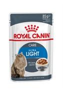 ROYAL CANIN Кусочки в соусе  для кошек Light weight care (0,085 кг)