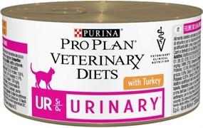 Pro Plan Консервы для кошек Диета при мочекаменной болезни (UR ST/OX) 195гр