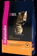 Eukanuba Adult Cat корм с домашней птицей для взрослых кошек  (10 кг)