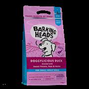 """BARKING HEADSБеззерновой для Собак малых пород с Уткой и бататом """"Восхитительная утка"""" (4 кг)"""