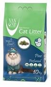 VAN CAT Комкующийся наполнитель без пыли с ароматом Соснового леса, пакет (Pine) САЛАТОВЫЙ