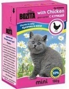 BOZITA Mini Кусочки в желе для котят с курицей