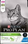 PRO PLAN® Sterilised для стерилизованных кошек С КРОЛИКОМ (3 кг)