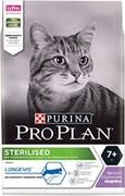 Purina Pro Plan (10 кг) Sterilised feline Adult 7+ with Turkey dry для стерилизованных кошек старше 7 лет с индейкой