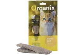 """Organix Лакомство для кошек """"Нежное филе утки, приготовленное на пару"""" 100% мясо (Tender steamed duck fillet)"""