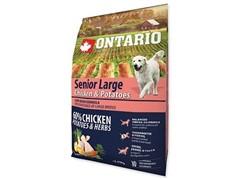 Ontario для пожилых собак крупных пород с курицей и картофелем, Ontario Senior Large Chicken & Potatoes (12 кг)