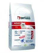 Ontario ONTARIO Сухой корм для взрослых кошек с курицей Adult