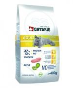 ONTARIO Сухой корм для домашних кошек с цыпленком Adult Indoor (10 кг)