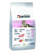 ONTARIO Сухой корм для котят с курицей Kitten (10 кг)