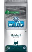 FARMINA Vet Life Cat Hairball Выведение шерстяных комочков (10 кг)
