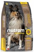 Nutram T23 Chicken & Turkey Dog  сухой корм для собак беззерновой курица с картофелем (13,6 кг)