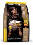 Nutram T27 TurkeyChicken&Duck Dog Food  сухой корм беззерновой для собак мелких пород из мяса индейки курицы и утки (6,8 кг)
