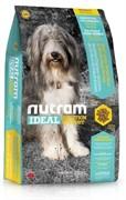 Nutram I20 Ideal Sensitive Dog - Skin, Coat & Stomach сухой корм для собак с проблемами ЖКТ кожи и шерсти (13,6 кг)