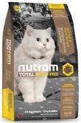 Nutram T24 Salmon Trout Cat  сухой корм для кошек беззерновой лосось форель (6,8 кг)
