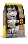 Nutram T22 Nutram Turkey, Chicken & Duck для кошек из мяса индейки, курицы и утки (6,8 кг)