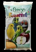 FIORY бисквиты для птиц Biscottelli с яблоком 35 г