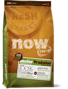 NOW NATURAL HOLISTIC Беззерновой для Пожилых собак Малых пород с Индейкой, Уткой и овощами (Fresh Small Breed Senior Recipe Grain Free 24/11) (5,45 кг)