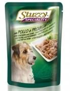 STUZZY SPECIALITY DOG консервы для собак с курицей и ветчиной 100гр