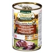 Stuzzy Monoprotein Консервированный корм для взрослых собак (с кабаном и ежевикой)