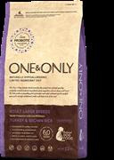 ONE&ONLY Turkey & Rice Adult LARGE BreedsИндейка  с рисом для взрослых собак крупных пород