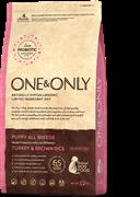 One&Only Turkey & Rice PUPPY All BreedsИндейка с рисом для щенков всех пород 12 кг