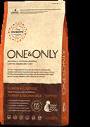 ONE&ONLY Turkey & Rice JUNIOR All BreedsИндейка с рисом для юниоров всех пород 12 кг
