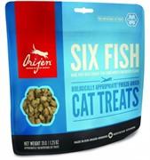 Orijen Лакомство для кошек Orijen FD Six Fish Cat treats