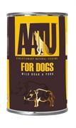 AATU консервы для взрослых собак с мясом дикого кабана и свининой, AATU WILD BOAR & PORK