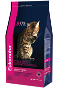 Eukanuba  Adult Dry Cat Food For Sterilised Cats Weight Control Chicken (10 кг)