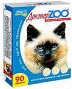 Доктор ЗОО м/в Лакомство д/кошек Повышает иммунитет Морские водоросли 90таб