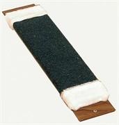 Зверьё моё М-2 Когтеточка ковровая с мехом с пропиткой средняя