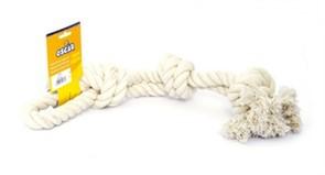 Игрушка для собак Белый канат 45 см